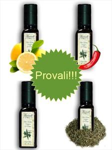 Olio extra vergine di oliva pacchetto prova (4 bottigle da 100ml)